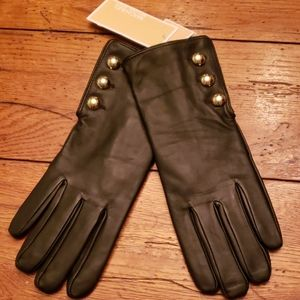 NWT - Genuine Leather MICHAEL KORS Gloves